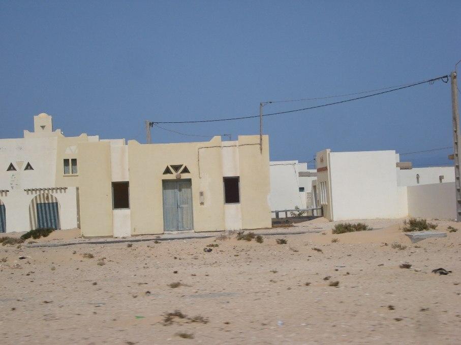 Empty Town Western Sahara