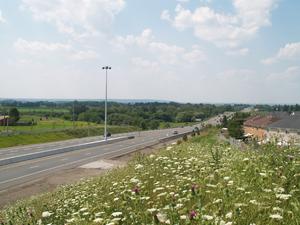 Ontario Highway 10 - Highway 410 ends as Highway 10 begins