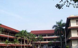 "Sultan Ageng Tirtayasa University - ""Letter U"" Building in Faculty of Engineering"