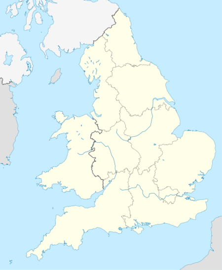 List of cathedrals in England and Wales is located in England