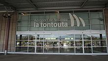 Entrée - Aéroport Nouméa-La Tontouta.JPG