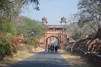 Entrance to the Fatehpur Sikri's Fort.JPG