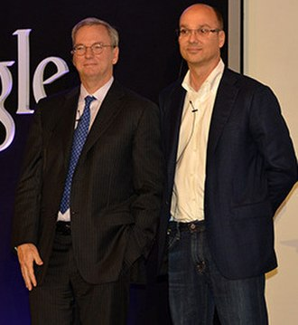 Essential Phone - Eric Schmidt and Andy Rubin