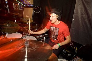 Intwine - Drummer Eric Spring in 't Veld joined the band in 2008.