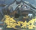 Ernst Ludwig Kirchner, Schafherde, 1938.jpg