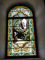Escource (Landes) église, vitrail 02.JPG