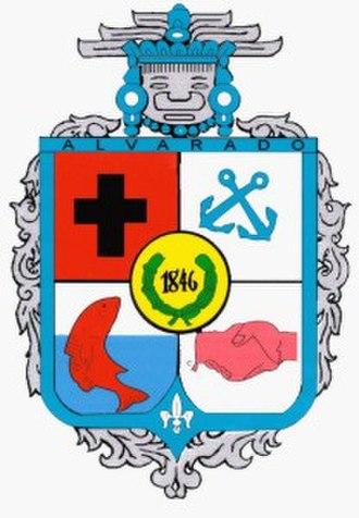 Alvarado (municipality) - Image: Escudo Alvarado