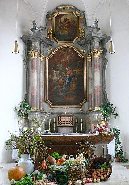 St. Martinus, Esenhausen, fotografisto: Andreas Praefcke