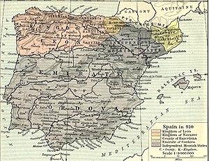 Kingdom of León - The new kingdom of León,  910