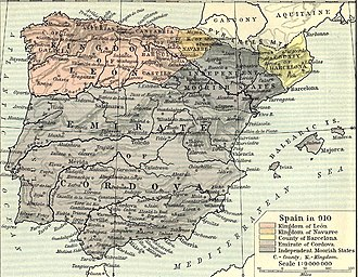 Kingdom of León - The new kingdom of León, 910