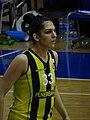 Esra Ural Topuz 33 Fenerbahçe women's basketball TWBL 20181216.jpg