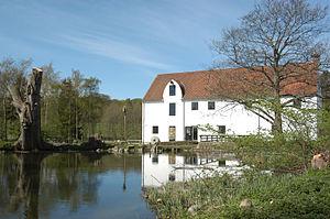 Esrum Å - Esrum Å at Esrum Watermill