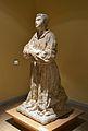 Estàtua de sant Vicent Màrtir, cripta arqueològica de la presó de sant Vicent.JPG