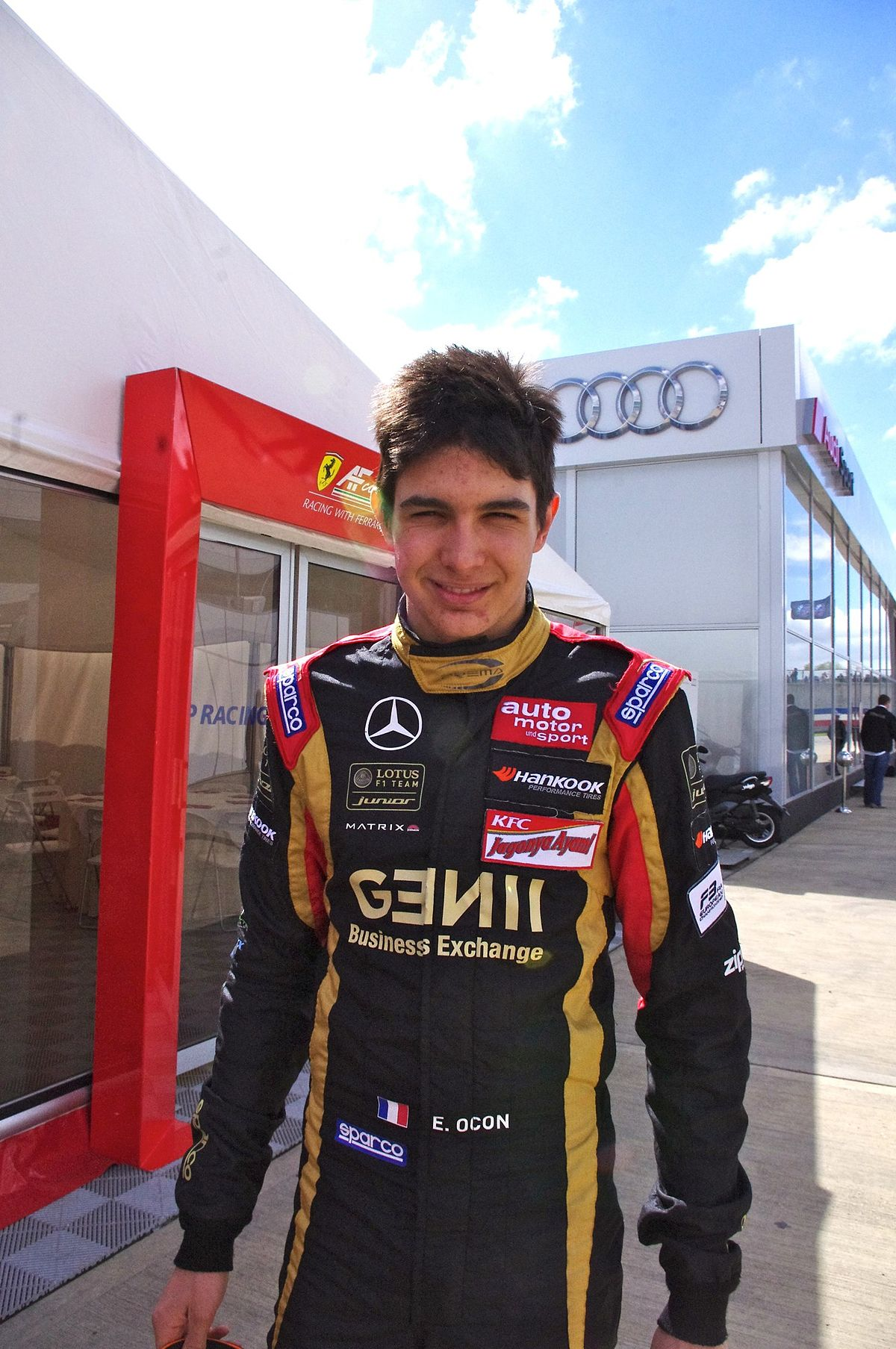 Esteban Ocon Wikipedia