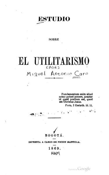 File:Estudio sobre el utilitarismo.djvu