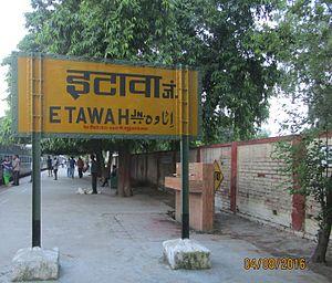 Etawah district - Etawah Jn