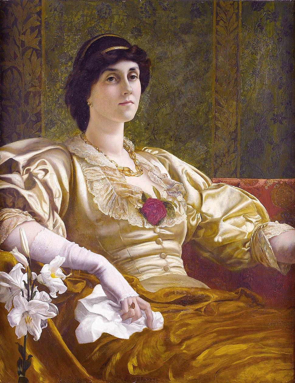 Ethel Bertha Harrison (1851-1916), by William Blake Richmond