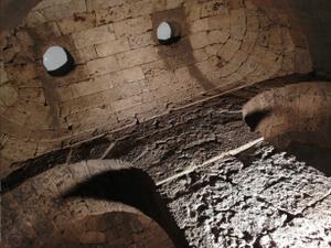 Lars Porsena - Etruscan-Roman reservoir in Chiusi, alleged Tomb of Lars Porsena