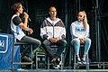 EuroBasket 2017 - Pekka Markkanen and Henna Salomaa.jpg