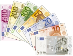 The first series of Euro banknotes