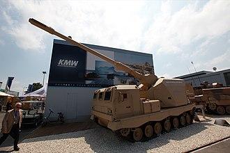 Artillery Gun Module - Image: Eurosatory 1506 Donar