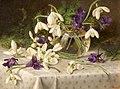 Eva Francis - Snowdrops and Violets (16249212738).jpg