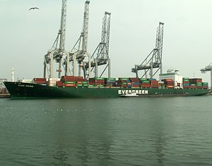 Ever Divine p2, at the Amazone harbour, Port of Rotterdam, Holland 07-May-2006.jpg