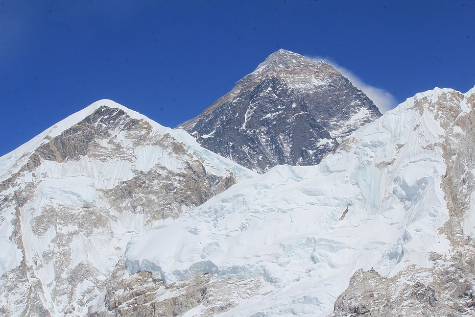 Everest from Kalatop April 2015