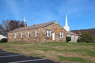 Everett Springs, Georgia - Everett Springs Baptist Church