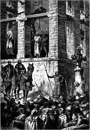 Enguerrand de Marigny - Image: Execution Marigny