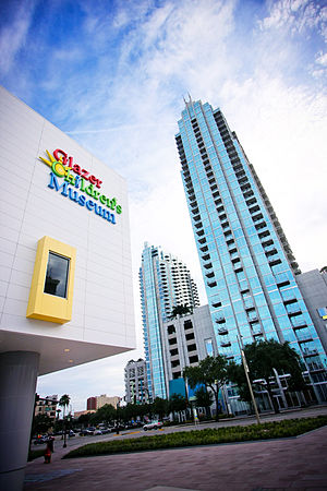 Glazer Children's Museum - Image: Exterior of Glazer Children's Museum