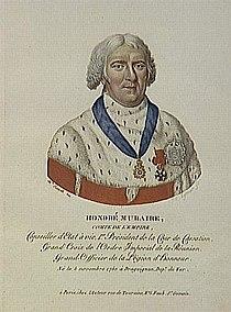 Eymar - Honoré Muraire, comte de l'Empire, né le 5 novembre 1750 à Draguignan.jpg
