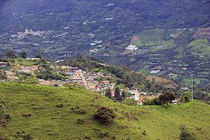 Fómeque - Image: Fómeque Casco urbano