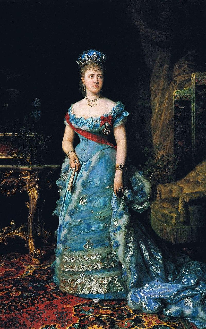F. de Madrazo - 1877, María del Carmen Azlor de Aragón, condesa de Gauqui y XV Duquesa de Villahermosa (Colección particular, Zaragoza, 225 x 142 cm).jpg
