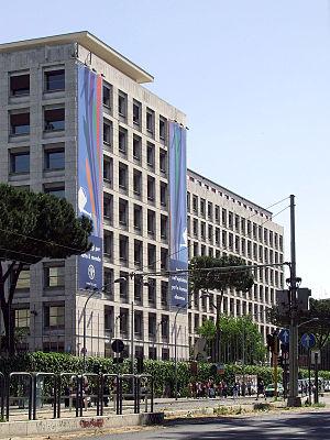 FAO Building, Rome - Image: FAO Roma 832