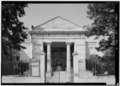 FRONT SOUTHWEST PORTICO, LOOKING NORTHEAST - Monumental Church, 1224 East Broad Street, Richmond, Independent City, VA HABS VA,44-RICH,24-4.tif