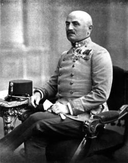 Paul Freiherr Puhallo von Brlog, c.1913-1914