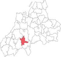 Värnamo by i Jönköpings amt