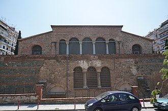 Paleochristian and Byzantine monuments of Thessaloniki - Image: Façade Acheiropoietos 00551
