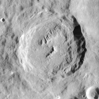 Fabricius (crater) - Lunar Orbiter 4 image