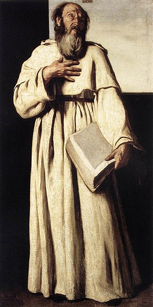 1650 in art - Image: Falcone, Aniello, The Anchorite, ca 1650