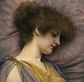 Far away thoughts, by John William Godward.jpg
