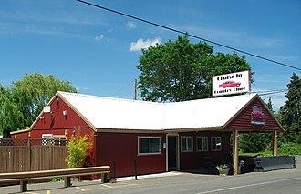 Farmington, Oregon - Diner at Farmington at intersection of River Road and Farmington Road