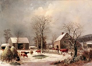 Barnyard enclosed or open area of land, a yard, adjoined to a barn