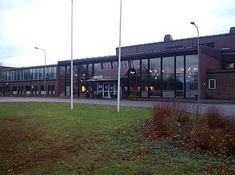 Tre kronor (TV series) - Farstahallen, which in the series acted as the Tre Kronor restaurant and sports hall.