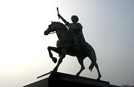 Fatih Sultan Mehmet heykeli.jpg