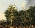 Felix Bockhorni - Bewaldete Landschaft mit einem Hirten.jpg