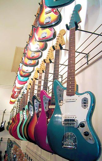 Fender Jaguar - Image: Fender Jaguars