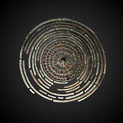 fenestered disk