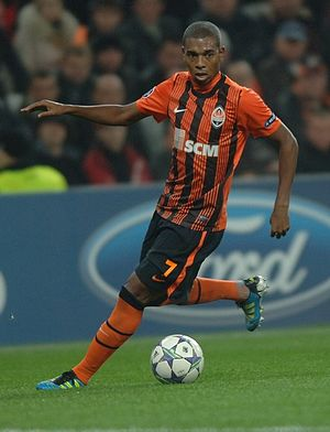 Fernandinho (footballer) - Fernandinho playing for Shakhtar Donetsk in 2011.